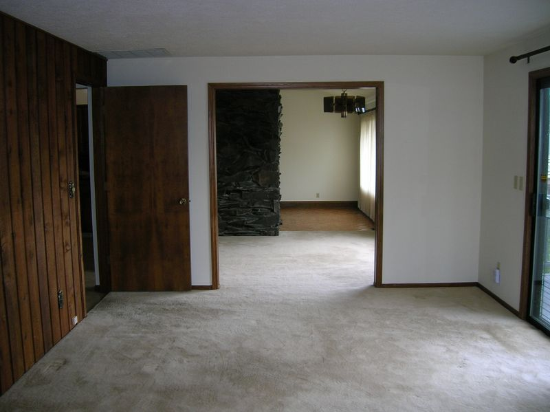 Den looking into dining room