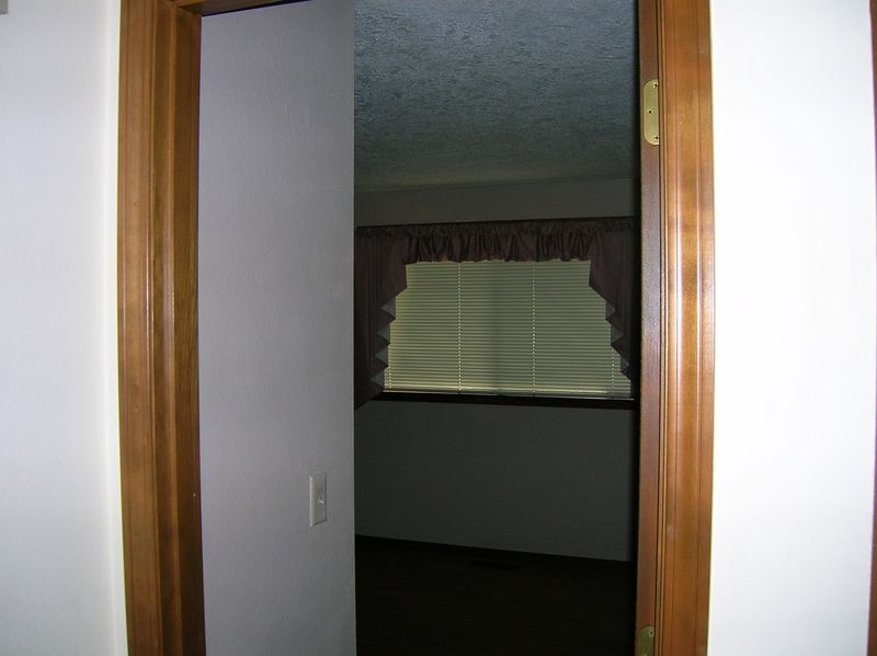 A bedroom from hallway
