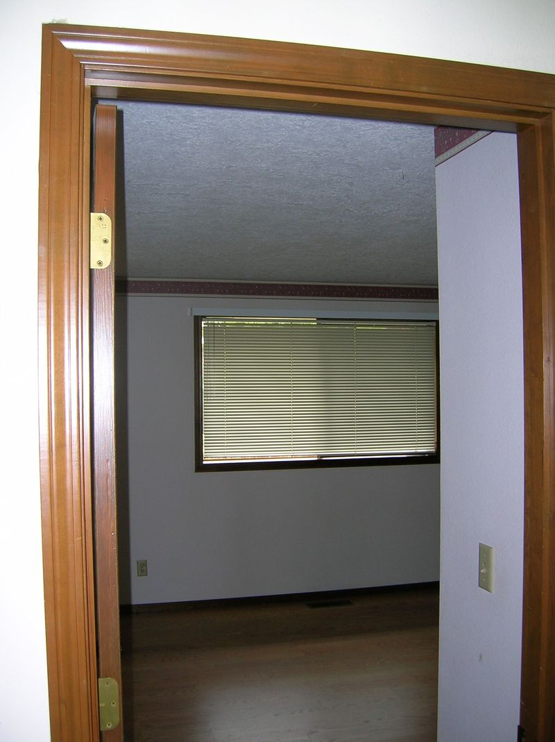 Second bedroom from hallway