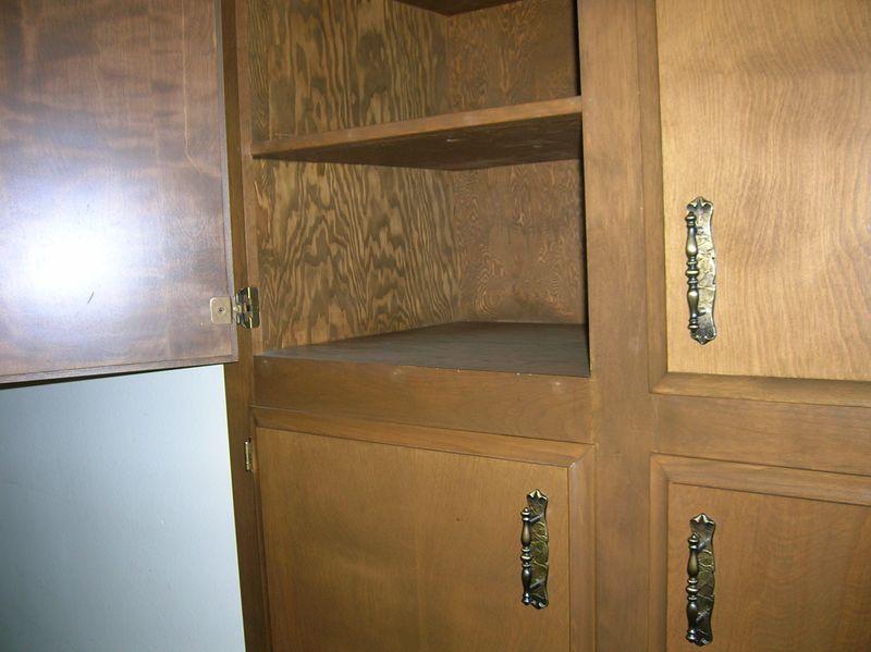 Hallway linen closet