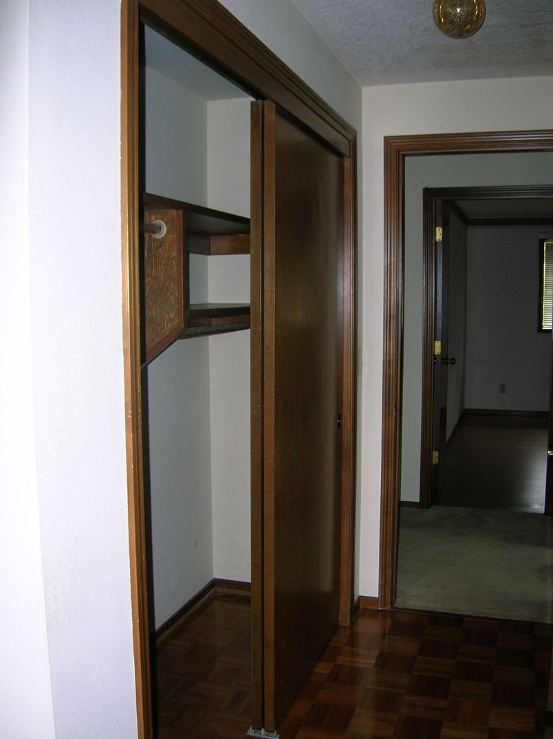 Master bedroom left closet